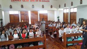 Encuentro alumnas Primera Comunión