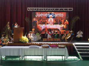 Jueves Santo en Colegio Santa Ana