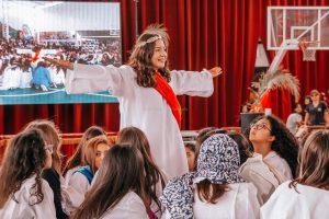 """Con una gran representación de """"Jesucristo Superestrella"""" CISA dio cierre a esta Semana Santa"""