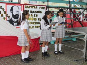 Acto cívico conmemorando el 21 de mayo