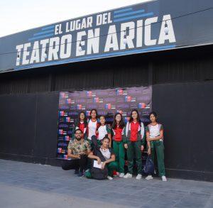 Salida a terreno Academia de Teatro