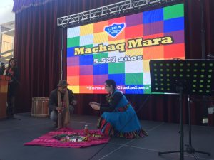 CISA celebra el Machaq Mara