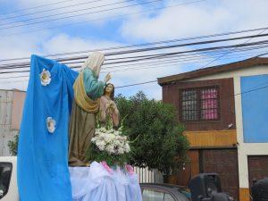 Procesión en honor Día de Santa Ana