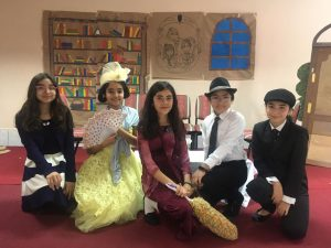 Alumnas del 7ºA realizan destacada presentación teatral