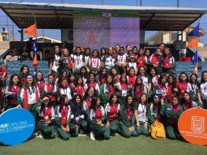 Destacada participación de alumnas en Gymkana Matemática