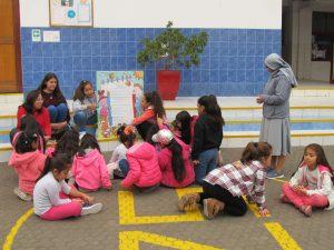 Encuentro solidario de Infancia Misionera con Capilla Inmaculada Concepción