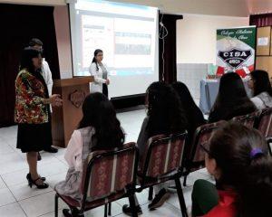 Charla Facultad de Educación a alumnas de Electivo Humanista