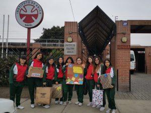 Alumnas de Confirmación visitan la Teletón