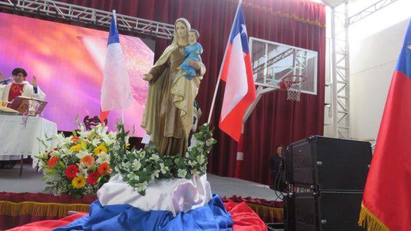 Colegio Santa Ana celebró con una misa a la chilena