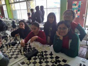 Alumnas Academia de ajedrez participan en Torneo escolar