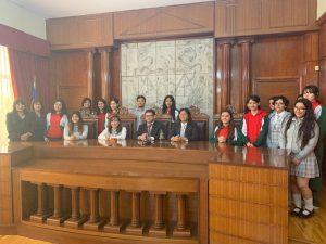 Alumnas de Electivo Humanista visitan Corte de Apelaciones