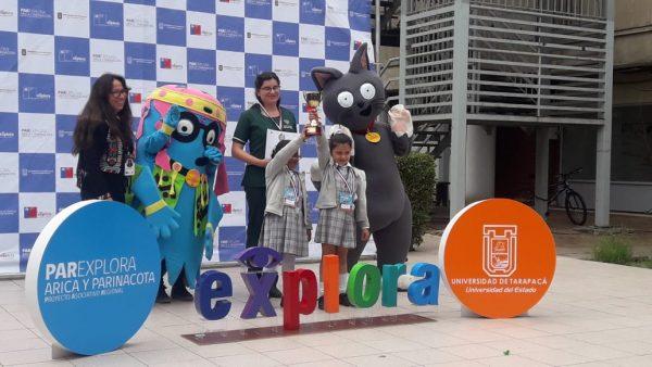 Destacada participación de Kinder y 1º básico en VII Feria Explora