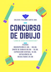 Invitación Concurso de Dibujo