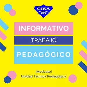 Informativo Trabajo Pedagógico