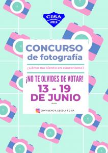 Votaciones concurso de fotografía, del 13 al 19 de junio
