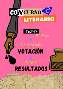 Votación Concurso Literario