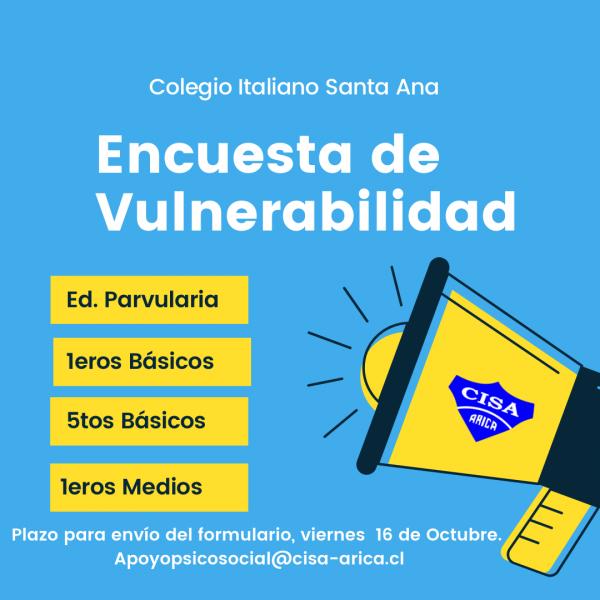 Encuesta de Vulnerabilidad