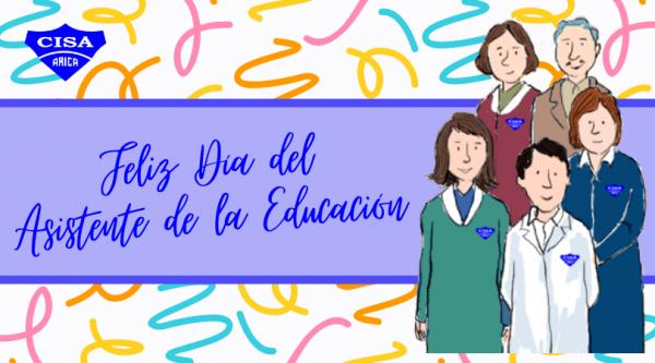 Feliz Día del Asistente de la Educación