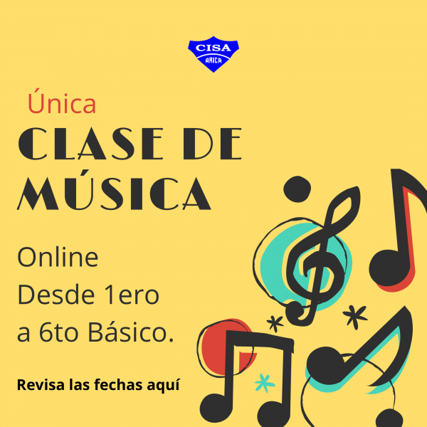 Clase online de Educación Musical.