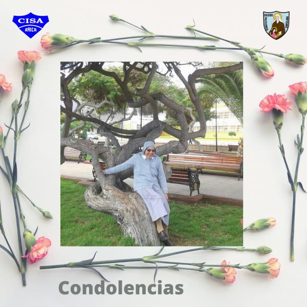 Condolencias, Hermana Albina Palominos.