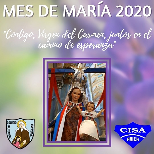 Coro Santa Ana le canta a María