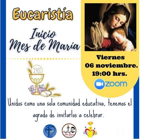 Eucaristía Inicio Mes de María