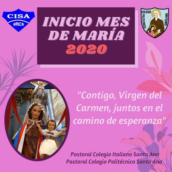 Inicio Mes de María 2020