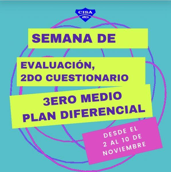 Cuestionarios Plan Diferencial 3eros Medios