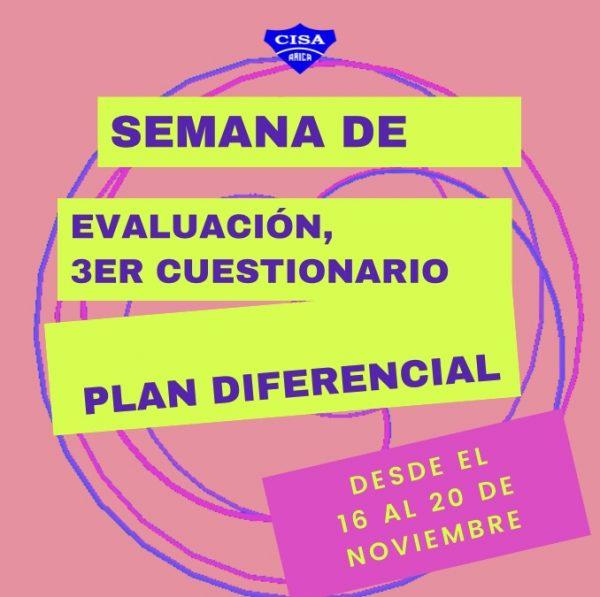 3er Cuestionario Plan Diferencial 4tos Medios.