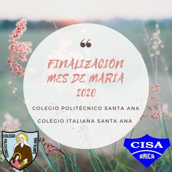 Finalización Mes de María 2020