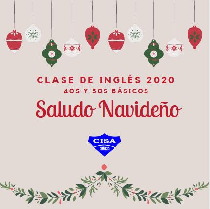 Saludo Navideño 2020