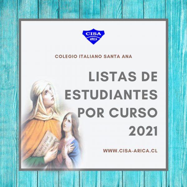 Lista de Estudiantes por Curso
