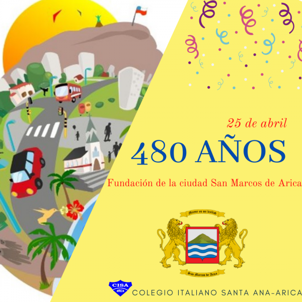 Calendario de Efemérides: Fundación San Marcos de Arica