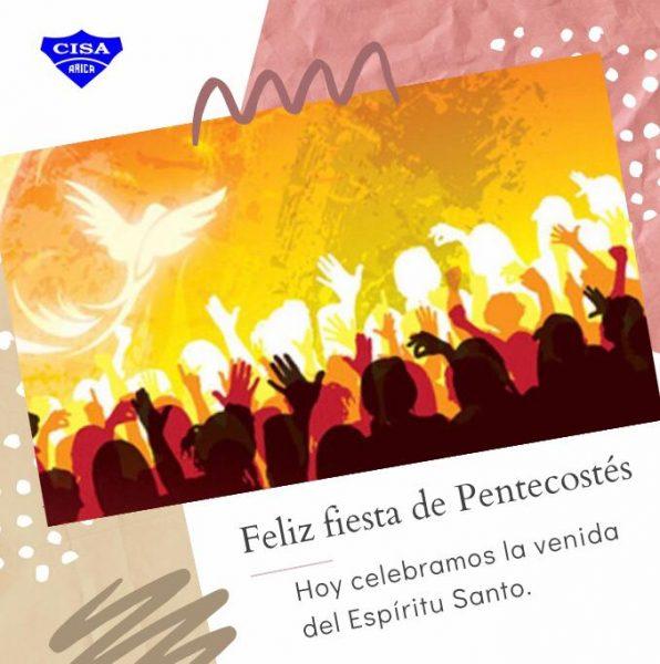 Feliz Fiesta de Pentecostés
