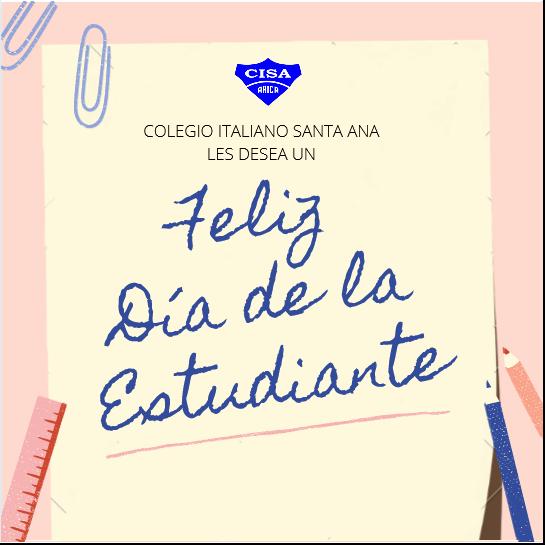 CISA desea un Feliz Día del Estudiante
