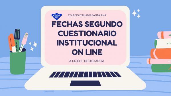 2do Cuestionario Institucional