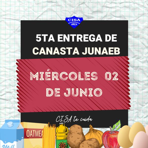 5ta Entrega de Canasta JUNAEB