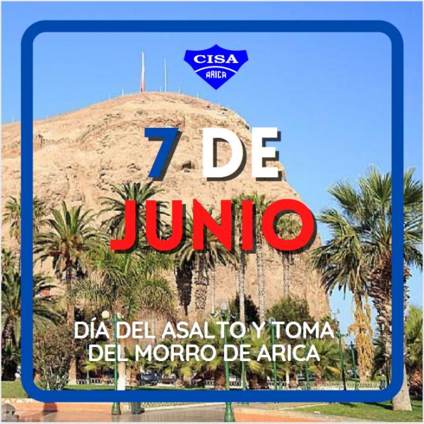 CISA saluda a Arica este 7 de Junio