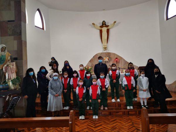 Celebración Eucaristía 3os Básicos