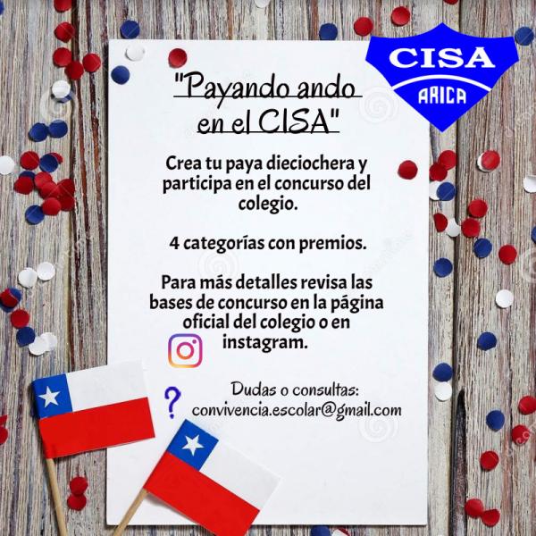 """Concurso de Payas: """"Payando ando en el CISA"""""""