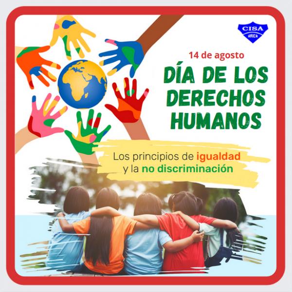 14 de Agosto: Día de los Derechos Humanos, igualdad y no discriminación