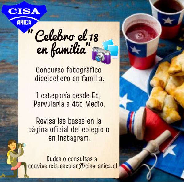 """Concurso Fotográfico: """"Celebro en Familia"""""""