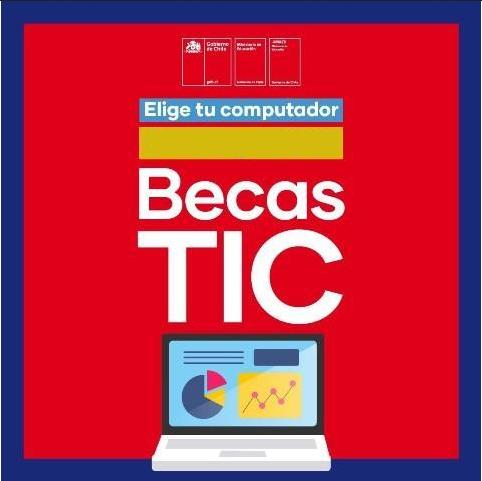 Entrega de Becas Tics JUNAEB a estudiantes de 7os Básicos.