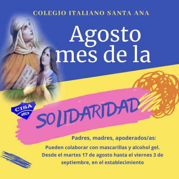 Agosto, Mes de la Solidaridad