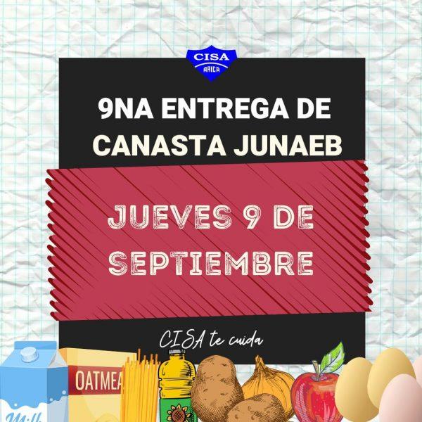 9ª Entrega de canasta JUNAEB