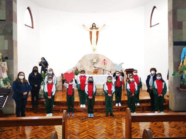 Celebración Eucaristía Cuartos Básicos