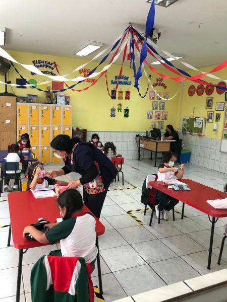 Actividades en clases presenciales Educación Parvularia