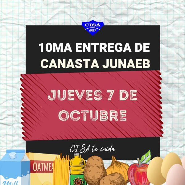 10° Entrega de canasta JUNAEB