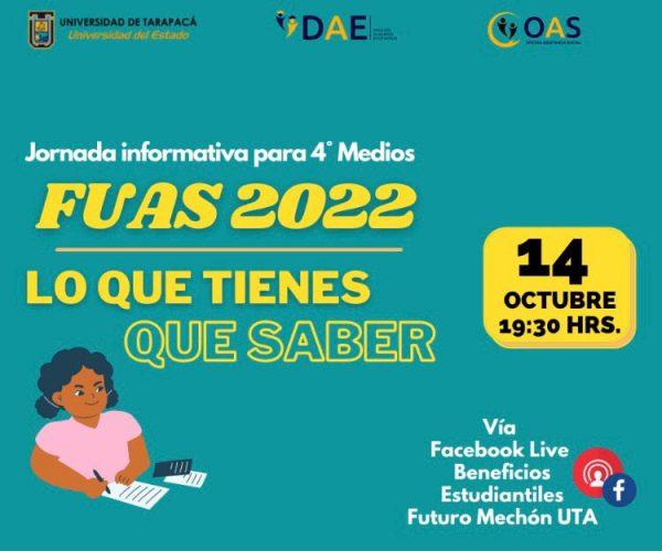 Jornada Informativa 4os medios FUAS